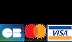 Moyen de paiement : CB Mastercard Visa